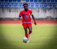 Ghana international  Eric Owusu