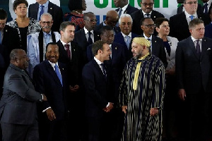 File Photo of some African leaders