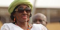 Nana Konadu Agyeman Rawlings, wife of Former President Jerry John Rawlings