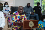Akufo-Addo advises party members against voting 'skirt and blouse'