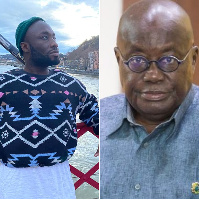 Ignatius Annor [L] recently came out to declare his gay status