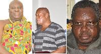 Neenyi Ghartey, Mr Robert Yaw Amankwah and Mr Sam Butler