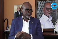 Renowned business magnate, Dr Kofi Amoah