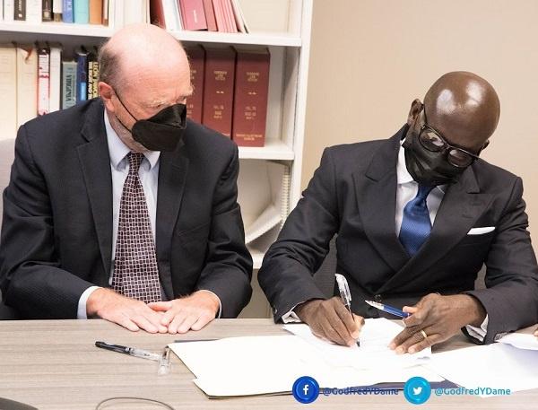 Attorney-General Dame brokers landmark scholarship agreement