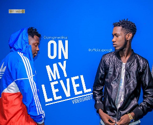 Rapper Andy Agyemang aka  Ypee features Medikal on 'On My Level'
