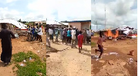 The violent protests took place after the announcement of a new DCE for Chereponi