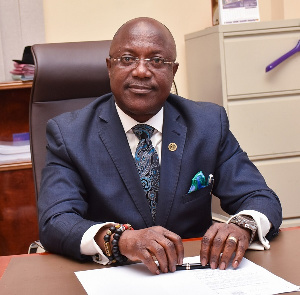 Prof. Kenneth Attafuah is the Executive Secretary of the National Identification Authority