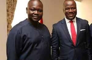 Francis Asenso-Boakye and Samuel Abu Jinapor