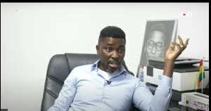 Musician and politician, Kwame Asare Obeng, a.k.a A Plus