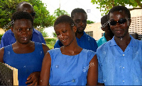 File photo: Visually impaired students