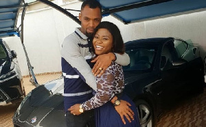 Rev Obofuor with his wife