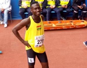 Sprinter Joseph Amoah