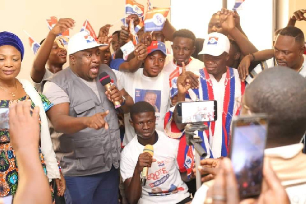 NPP in Bole \'scams\' National Youth Organiser with fake defections - NDC