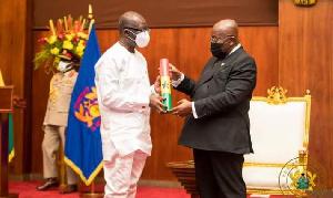 President Nana Addo Dankwa Akufo-Addo and Finance Minister Ken Ofori-Atta