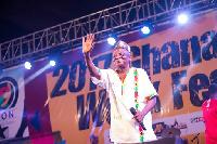 Nana Kwame Ampnadu is impressed with the treatment given him by Zylofon Media