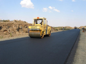 File photo: The newly constructed road will help ease traffic in the vicinity