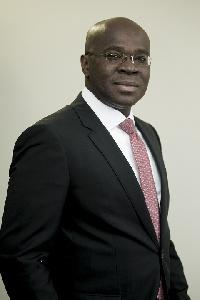Kwamina K. Asomaning,  Head of Corporate & Investment Banking, Stanbic Bank Ghana