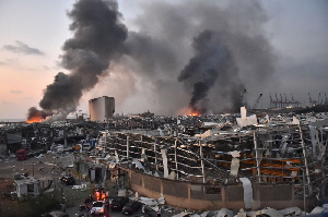 The capital of Lebanon was rocked by huge explosions on Tuesday