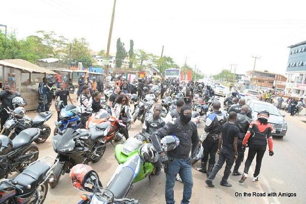 Hundreds of bikers mourn late Jehad Ashkar