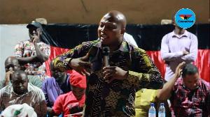 Former Deputy Education Minister in charge of Tertiary Education, Samuel Okudzeto Ablakwa
