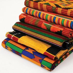 Variety of Kente designs