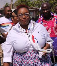 Deputy Communications Director of the NPP, Maame Yaa Aboagye