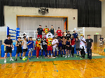 Ghana's Black Bombers sparred with some boxers in Japan