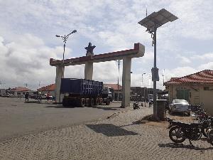 Aflao Border Post