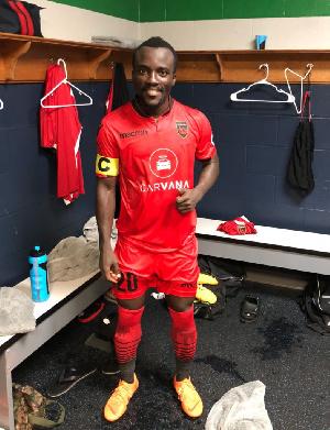 Phoenix Rising captain, Solomon Asante