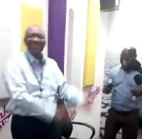 Emmanuel Agyarko and Kwaku Boahene