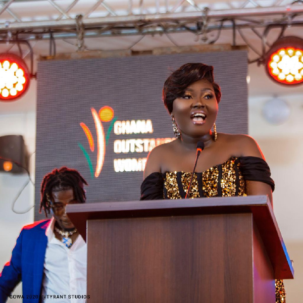 Princess Duncan, daughter of Prof Samuel Ato Duncan wins Outstanding Women Young Entrepreneur Award