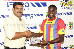 Thomas Abbey led Hearts of Oak to a good campaign before leaving