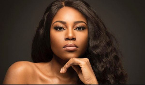 Actress and movie producer Yvonne Nelson