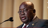 President Nana Akufo-Addo was named by the fierce critic of African leadership in his exclusive list