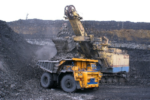 File photo of a gold mine