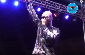Highlife artist, King Promise held a concert on September 28, 2019 at Nungua Authority Park