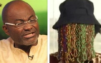 Kennedy Agyapong, MP for Assin Central and Anas Aremeyaw Anas, investigative journalist