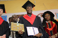 Gyan has been honoured for his exploits