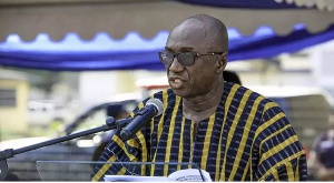 Minister of Interior, Ambrose Dery