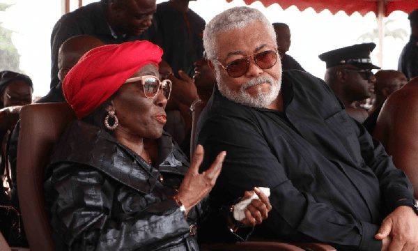 You made the fight for women rights a \'reality\' - Konadu eulogizes \'darling\' Rawlings