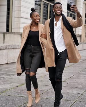 JimSeuh and girlfriend
