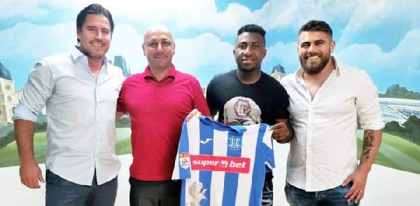 Joseph Mensah joins Romanian giants Politehnica Iasi
