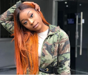 Ghanaian socialite and actress, Efia Odo