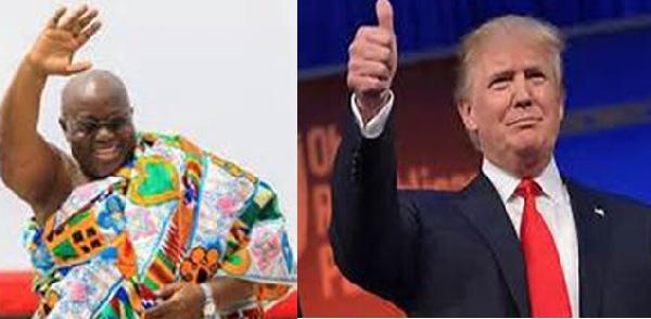 President Akufo-Addo and President Trump