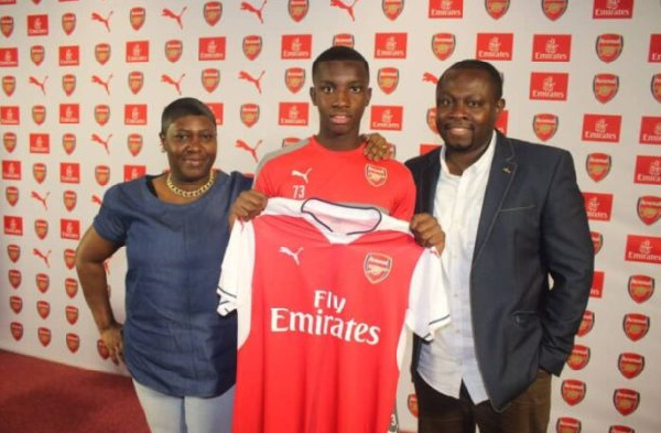 Eddie Nketiah's father doesn't know 'phantom' uncle Vincent Owusu Appiah