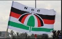 File photo of NDC Flag
