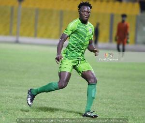 Bechem United midfielder, Moro Salifu