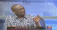 Editor-in-Chief of the Crusading Guide Newspaper, Abdul Malik Kweku Baako
