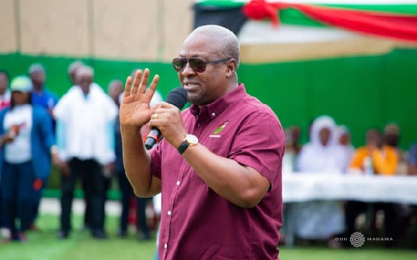 NDC will go after GPRTU buses shared to NPP chairmen when I win - Mahama