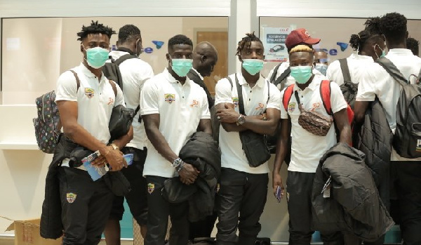 CAF Champions League: Hearts of Oak arrive in Morocco ahead of 2nd leg game against WAC
